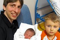 Mamince Dominice Ševčíkové z Liberce se dne 27. února narodil syn Lukáš Ševčík. Měřil  50 cm a vážil 3,43 kg.