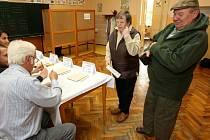 Krajské volby v Liberci.
