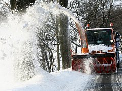 Sněhová kalamita na Liberecku. Ilustrační foto.