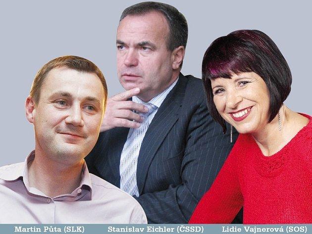 Možní budoucí koaliční partneři.