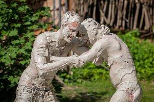 Zápasy v blátě v EKOparku Liberec