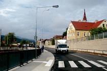 ČÁST přeložky je v místech, kde předtím žádná silnice nebyla.