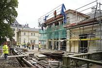 Přestavba Liebiegova paláce.