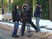 Do Liberce opět dorazili filmaři. Pro natáčení dvoudílného snímku Poslední cyklista si vybrali secesní vilu v Masarykově ulici nebo třeba bývalé sídlo Libereckých výstavních trhů.