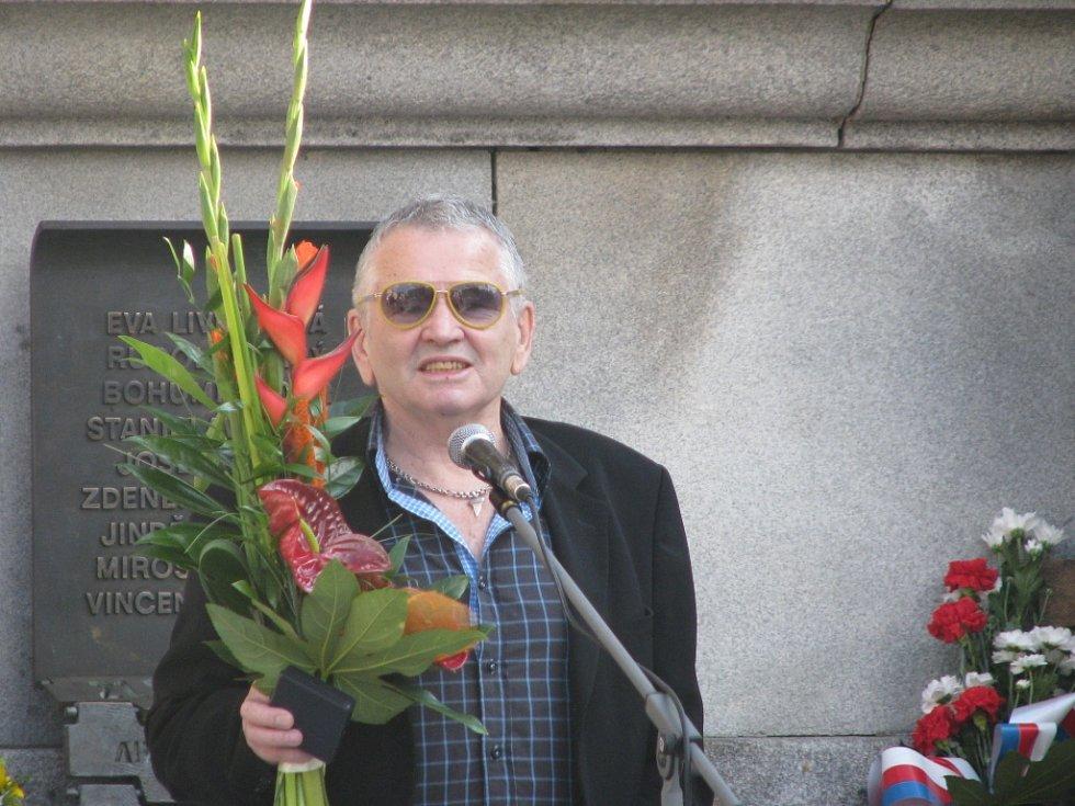 Oceněný pamětník událostí ze 21. srpna 1968 Petr Šída.
