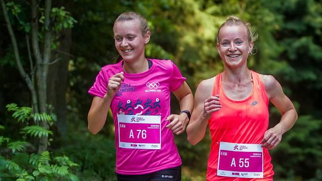 T-Mobile Olympijský běh 2018 ve Vratislavicích nad Nisou.
