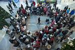 Liberečané zpívali koledy v OC Forum
