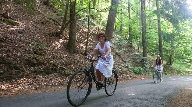 Spanilá jízda Cyklostezkou Járy Cimrmana.