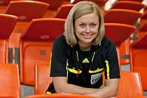 ROK SNŮ. Adriana Šecová (na snímku z pauzy turnaje v hale Dukly) má důvod k úsměvu. Rok 2011 byl prostě skvělý.