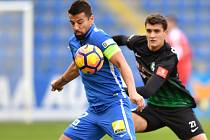 FC SLovan Liberec – I.FK Příbram, Baroš Milan.