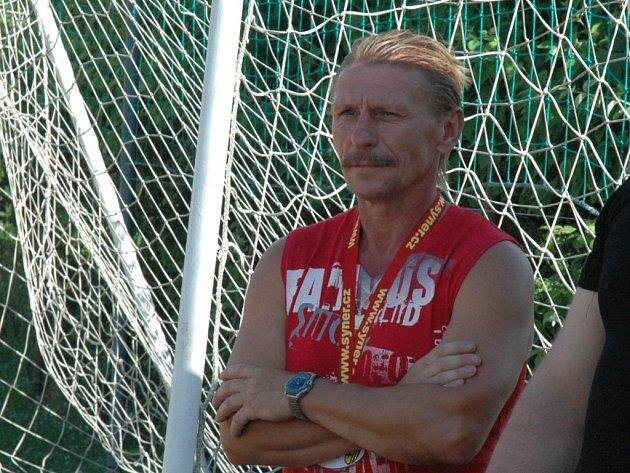 KOUČ. Zdeněk Cmunt dovedl v roli trenéra Vratislavice do krajského přeboru.
