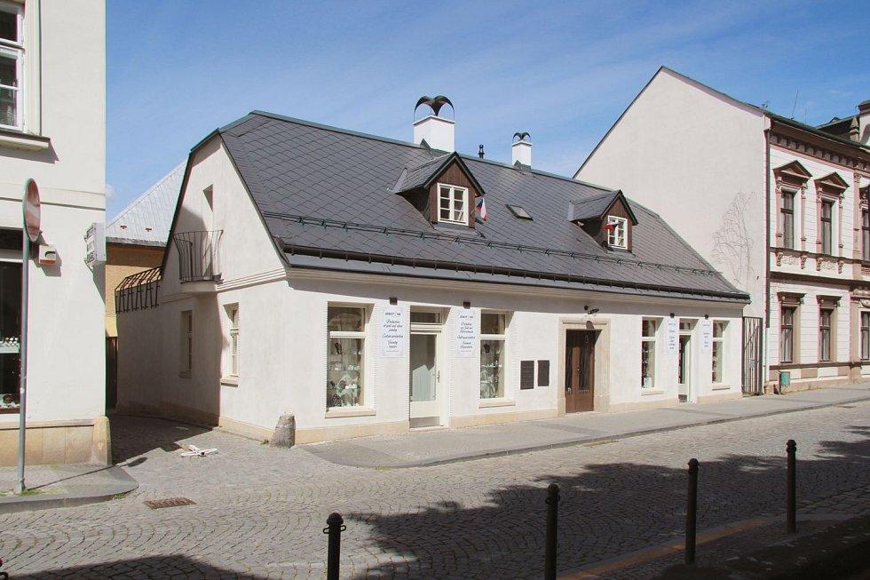 Dům ve Skálově ulici v Turnově.