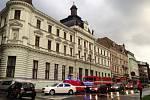Déšť zasáhl i zázemí pošty v centru Liberce.