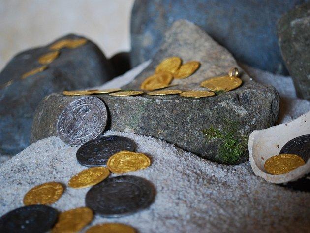 Ve Vlněně našli mince z doby krále Jiřího z Poděbrad. Byly v úkrytu z obléhání