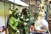 Liberečtí chemici cvičí na Slovensku.