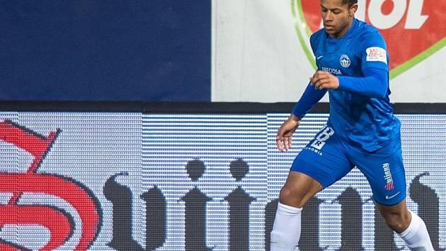 Kristian Michal v dresu Slovanu Liberec.