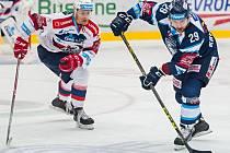 Zápas hokejové extraligy Liberec - Pardubice