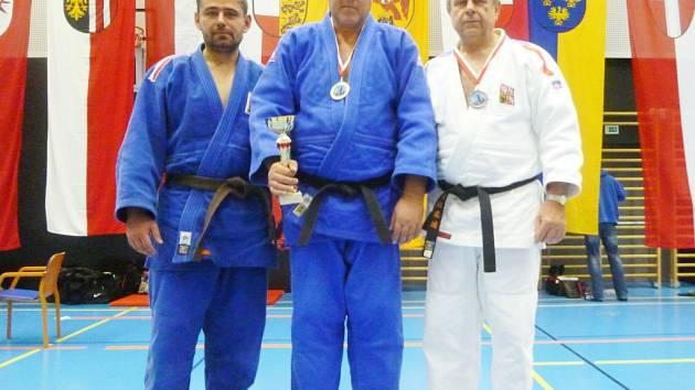 VETERÁNI Z LIBERCE. Zleva Petr Schüller, Jiří Brožek a Milan Vágner.