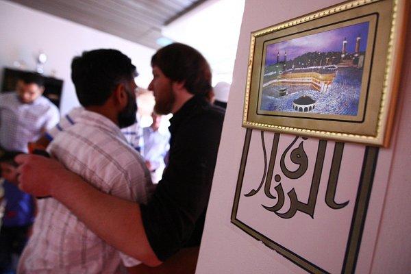 MODLITBOU začal Ramadán ipro muslimy vLiberci.