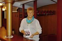 INSPEKTORKA JEVIŠTĚ v Divadle F. X. Šaldy v Liberci. Jitka Taušová působí v kulturním stánku již 24 let.