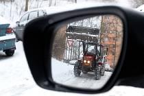 Liberec se vypořádá se zimní nadílkou.