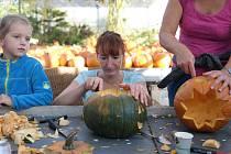 4. ročník Dýňobraní v Zahradním centru v Chuchelně přilákal stovky lidí.