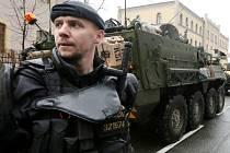 Konvoj americké armády opustil Liberec.