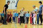 Sportovním zápolením oslavily děti zMŠ Kamarád Den dětí, 2012.