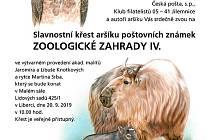 křest známky v zoo