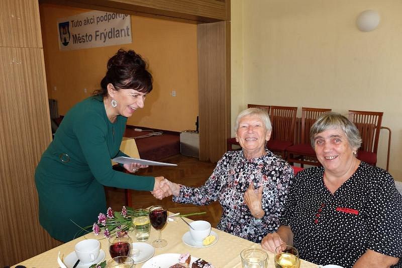 Gratulování jubilantům ve Frýdlantě