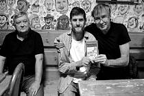 Miloslav Lubas a Petr Urban pokřtili knihu.