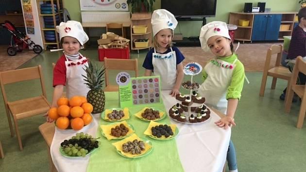 Zdravá strava a kreativita jsou vlastní týmu Kulinek zliberecké Mateřské školy Beruška.