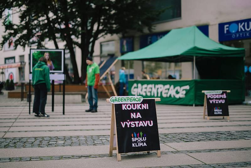Klimatická tour Greenpeace.