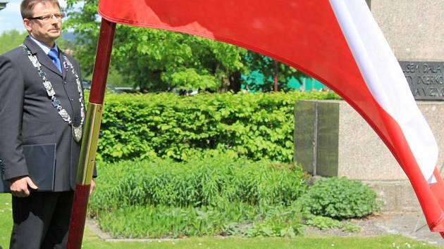 Vlajka pro Masaryka.
