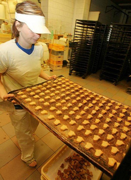 Maškovo pekařství ve Smržovce.