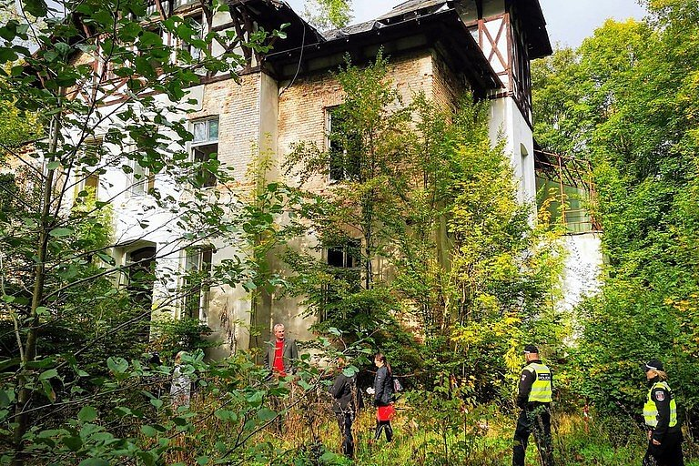 Areál na okraji Liberce - Kleinertova vila - bývalá oční léčebna Machnín je na prodej.