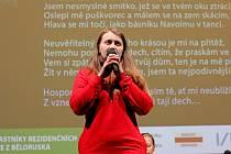 Jedna z nejoceňovanějších běloruských spisovatelek současnosti Nasstasja Kudasavová promluvila na mimořádné besedě na Technické univerzitě v Liberci.