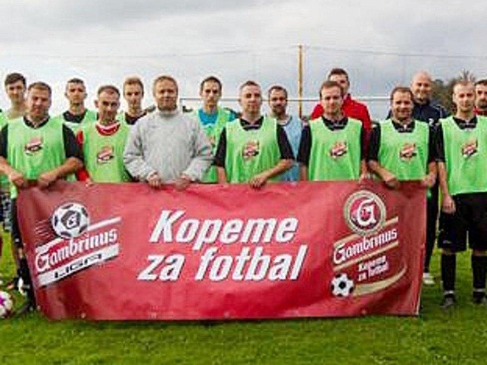 VÍTĚZOVÉ AKCE KOPEME ZA FOTBAL. Fotbalové Pertoltice.