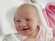 ELIŠKA TVRDÍKOVÁ Narodila se 15. října v liberecké porodnici mamince Janě Tvrdíkové z Chotyně. Vážila 2,82 kg a měřila 50 cm.
