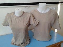 Na první pohled jde o obyčejná bavlněná trička. Ve skutečnosti jsou ale vyrobena ze speciální bariérové textilie, která dokáže uchránit tělo před negativními účinky takzvaného elektrosmogu.