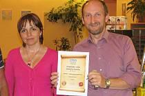 Certifikát Hospůdky roku převzal majitel Ánandy Karel Schreiber.