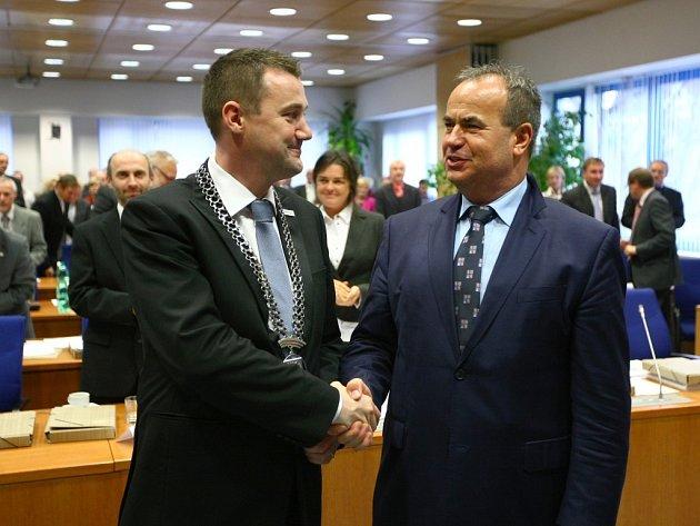 Volba a zvolení nového hejtmana Libereckého kraje. Stal se jím Martin Půta (SLK).