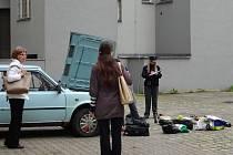 Odcizenou škodovku si majitelka po měsíci od krádeže našla blízko redakce Deníku
