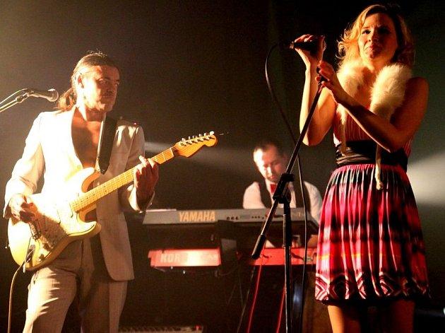 SOUL ROCKOVÁ KAPELA MANDRAGORA  v klubu Woko v Jablonci nad Nisou v říjnu 2010.