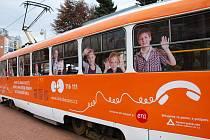 Benefiční tramvaj vybrala od Liberečanů desítky tisíc korun