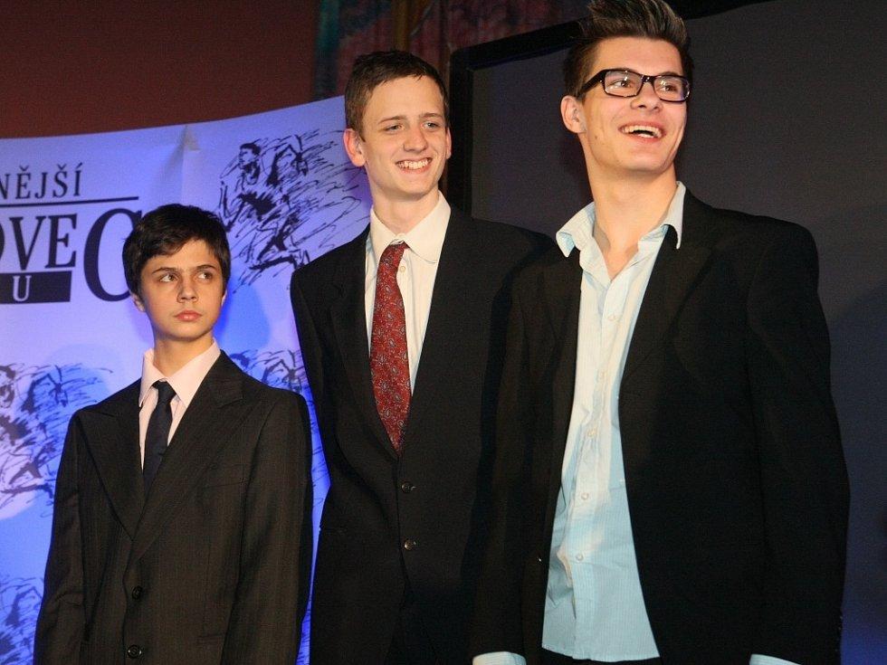 4.místo - kadeti, v šermu Lokomotiva Liberec, Romuald Klem, Jáchym, Novák, Jiří Syřiště.