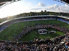 STADION U NISY. Ilustrační foto.