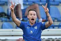 Novopečený reprezentant Sýkora poslal Liberec do Evropské ligy.