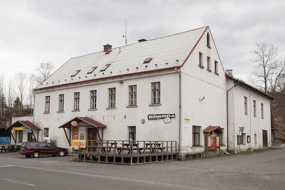 Oldřichovská Beseda před dlouho plánovanou rekonstrukcí.