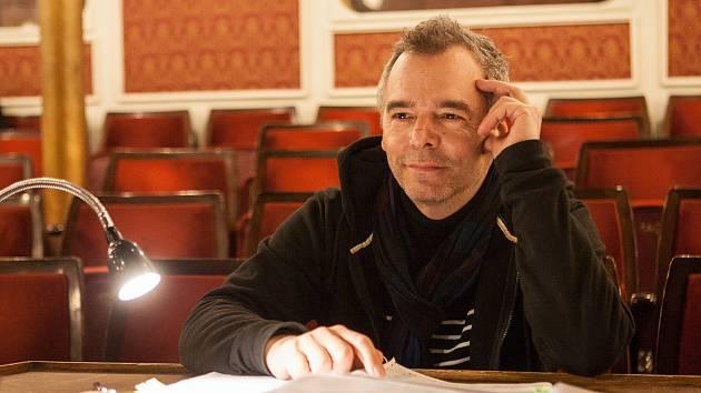 Režisér a herec Peter Gábor.